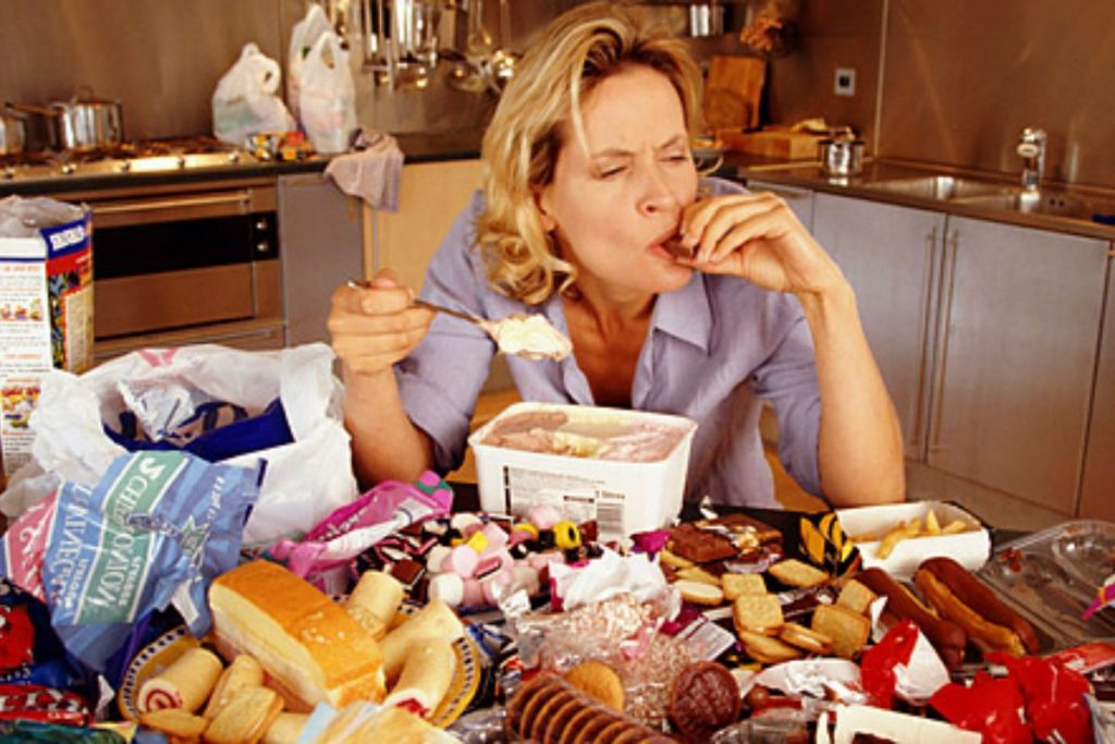 What happens if we eat too much?