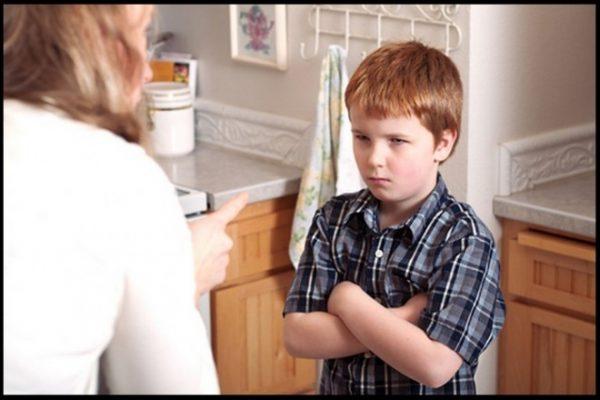 When a child tells a lie